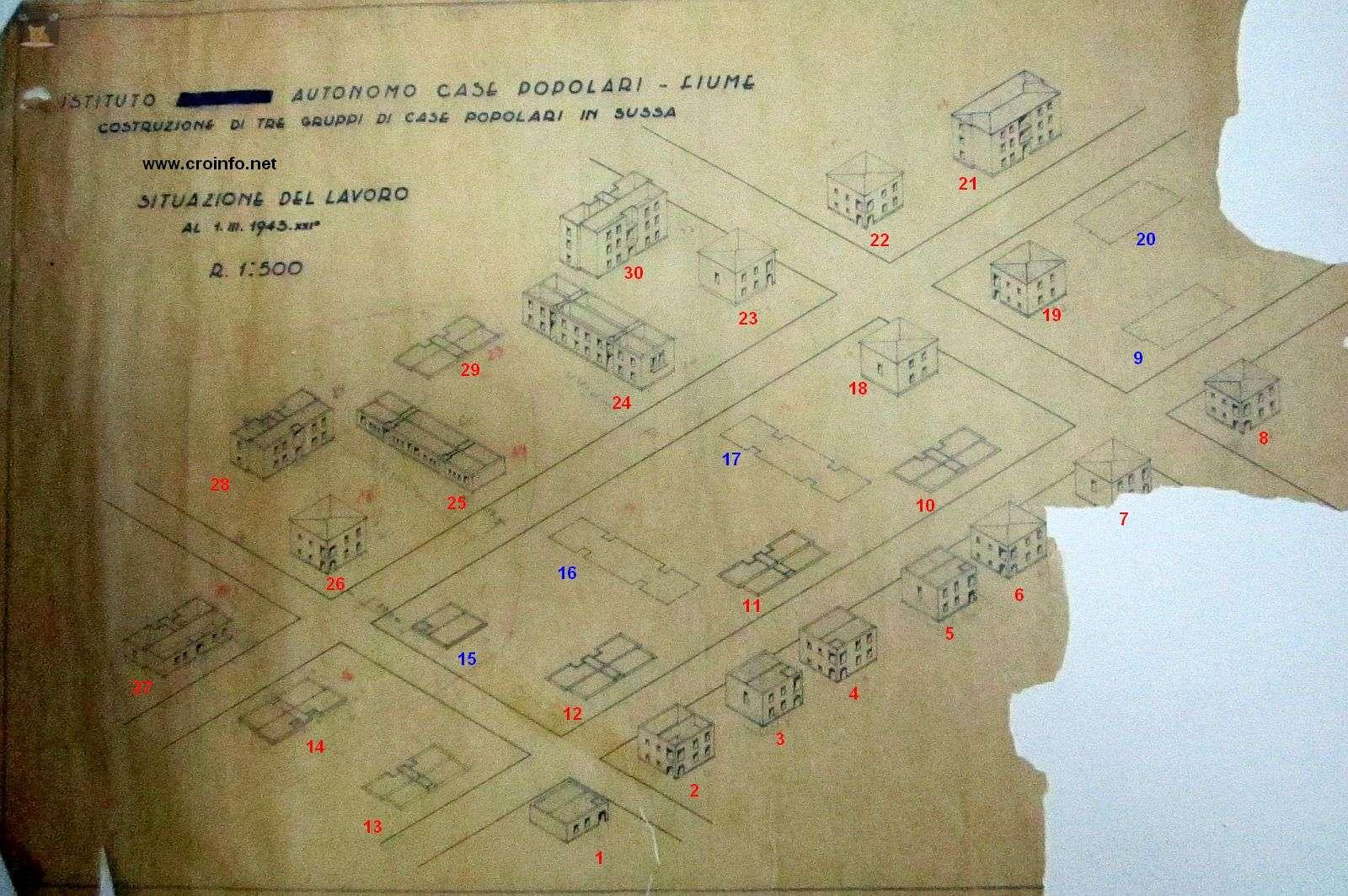 naselje Vojak talijanske radničke kuće