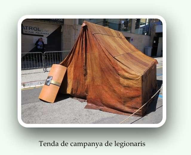 Tenda de legionaris