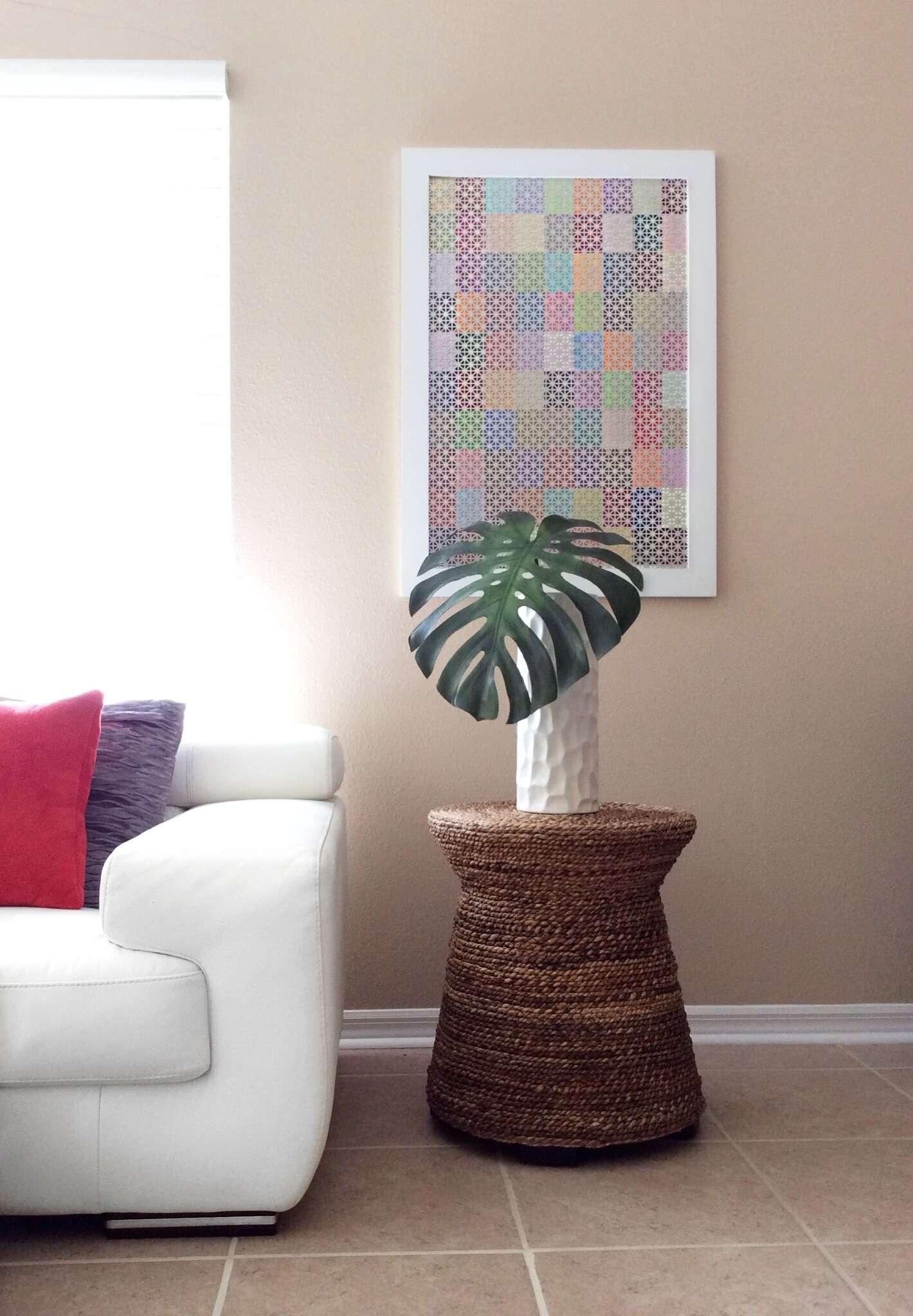 Cuadro Decorativo con Muestras de Pintura
