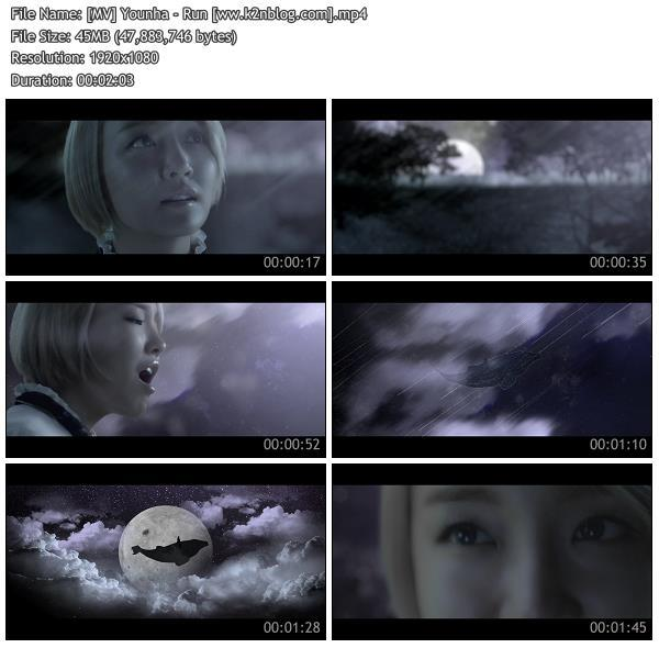 (MV) Younha - Run (HD 1080p Youtube)