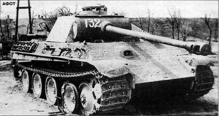 Panzers destruidos en la batalla del lago balatón IV