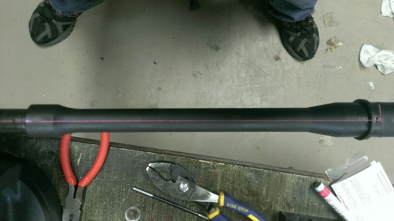 how to align your gasblock - AR-15 Discussion