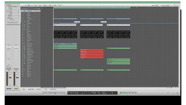 Logic Pro Template Screenshot