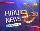 Hiru News 9.30pm 20.10.2012 - Hiru Tv