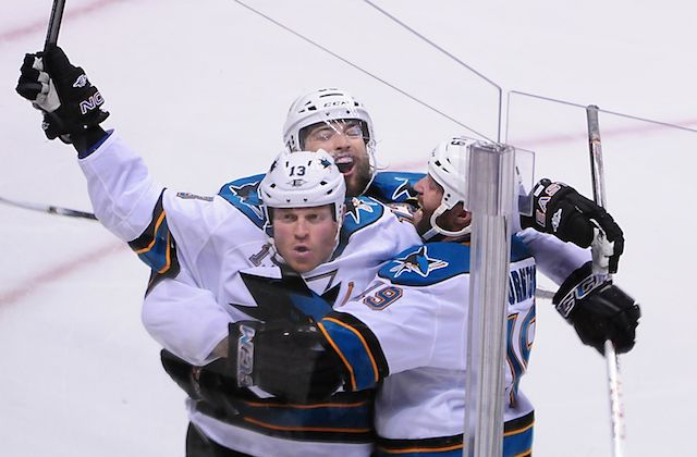 The Sharks can take a commanding lead in their series with a win on Sunday. (USATSI)