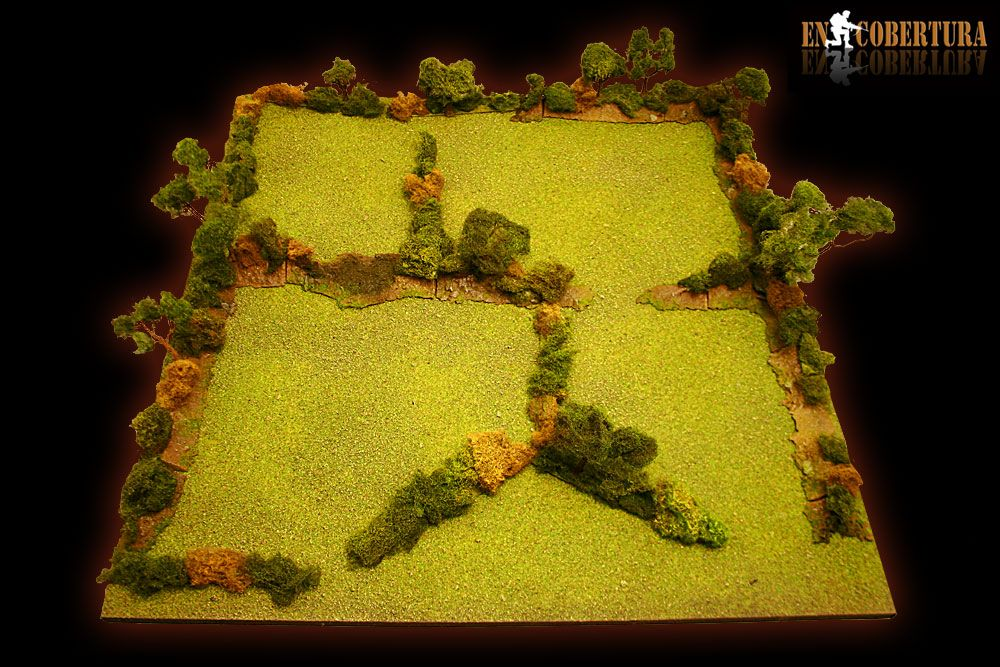 FLAMES OF WAR, WARGAME SCENERY