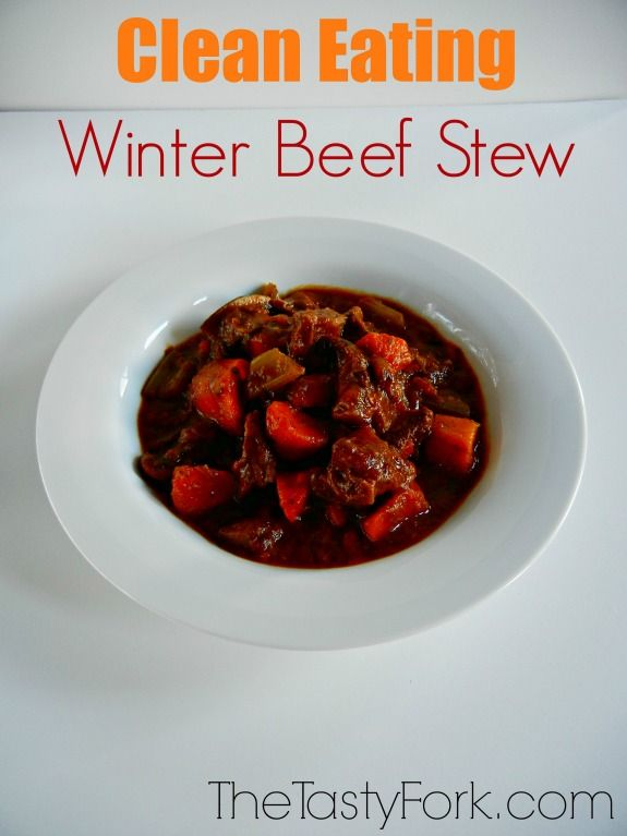 Clean Eating Beef Stew on thetastyfork.com