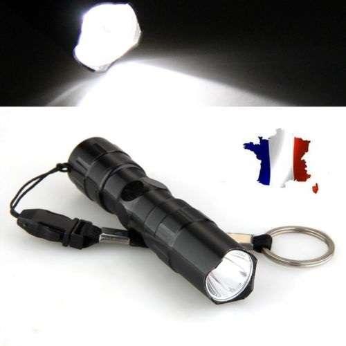 Mini lampe torche puissante tactique militaire etanche led 3w police ebay - Lampe torche led militaire ...
