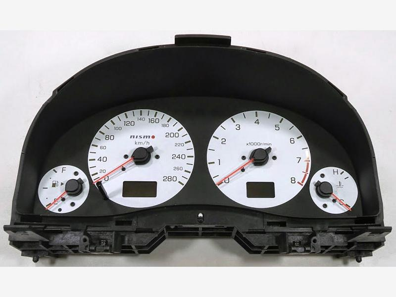 NISMO 280km/h Instrument gauge cluster Nissan Stagea M35