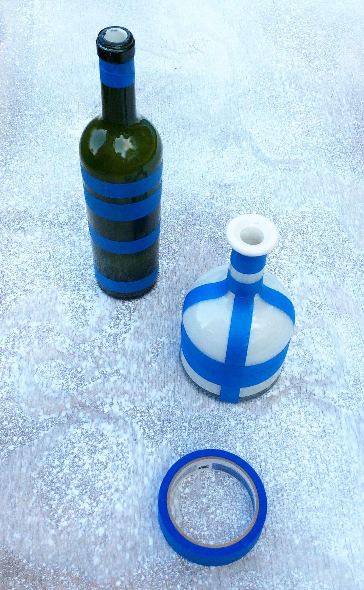 cinta-adhesiva-botella-diy