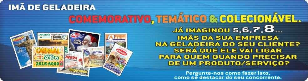 IMÃ DE GELADEIRA COLECIONÁVEL PERSONALIZADO.