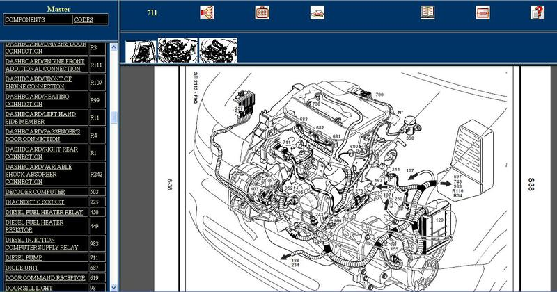 Diagram  Renault Laguna 2001 Wiring Diagram Full Version