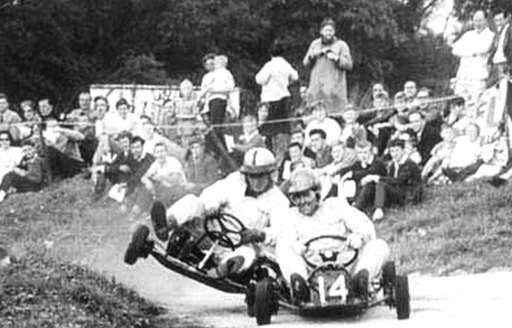 Kart Race: Jack Brabham vs. Bruce McLaren