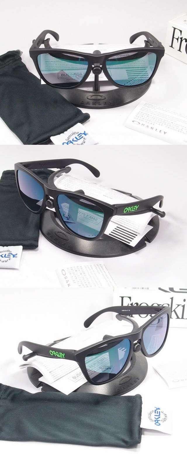 Oakley Sunglass Frogskins Prizm Oo 9245 74 Grey Smoke Limited Edition Soft Touch Black Jade Iridium 24 396 4500