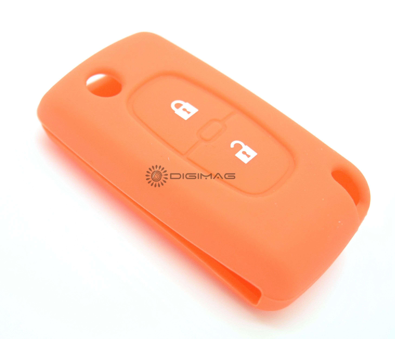 Tui housse protection t l commande cl plip peugeot - Pile telecommande orange ...