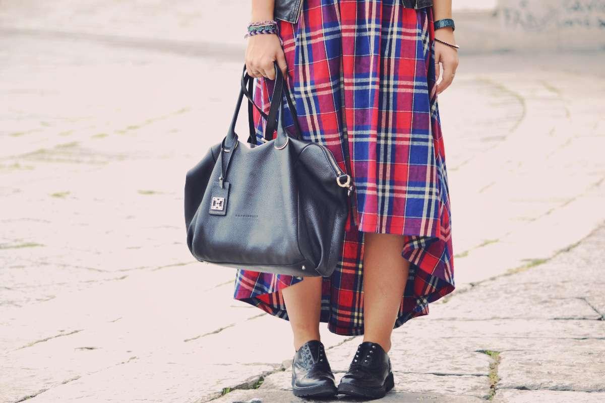 coccinelle leather bag black