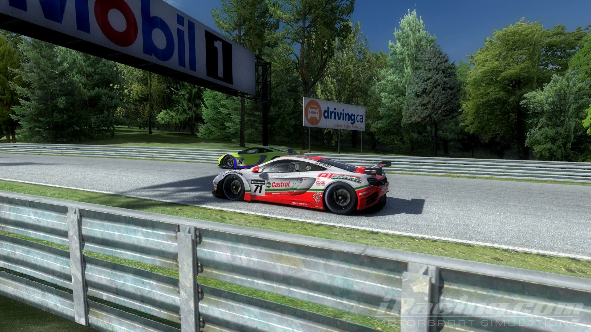Info cms iracing race recap canadian tire motorsport park for Paquin motors used cars