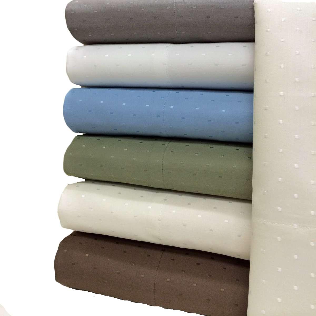 Royal Tradition Woven Dots 600 Thread Count Sheet Sets at Sears.com
