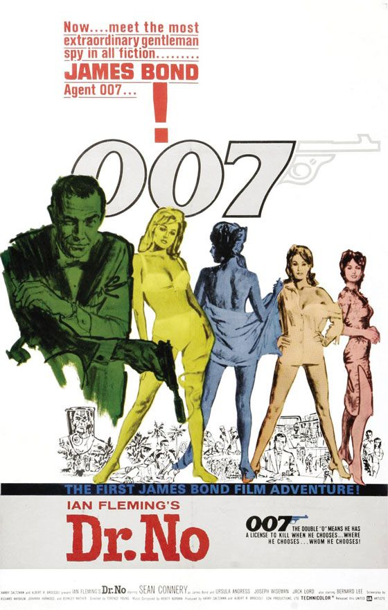 James Bond Dr. No Poster