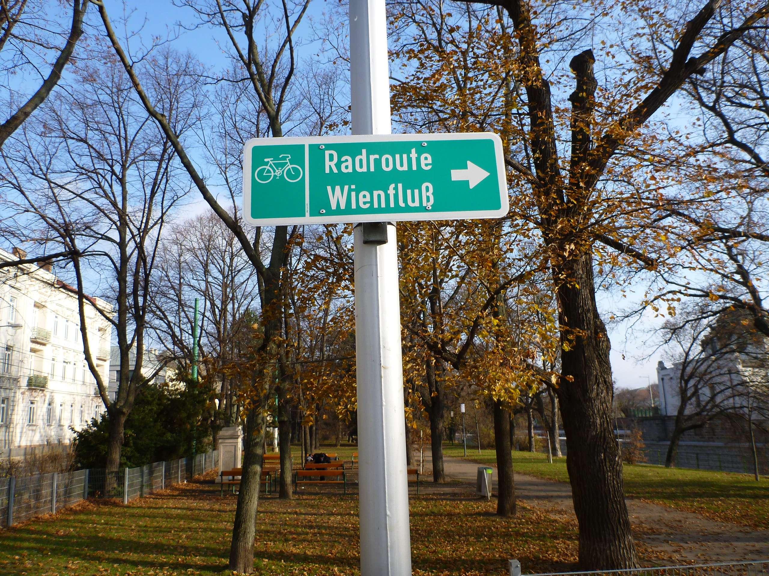 Radroute Wienfluß