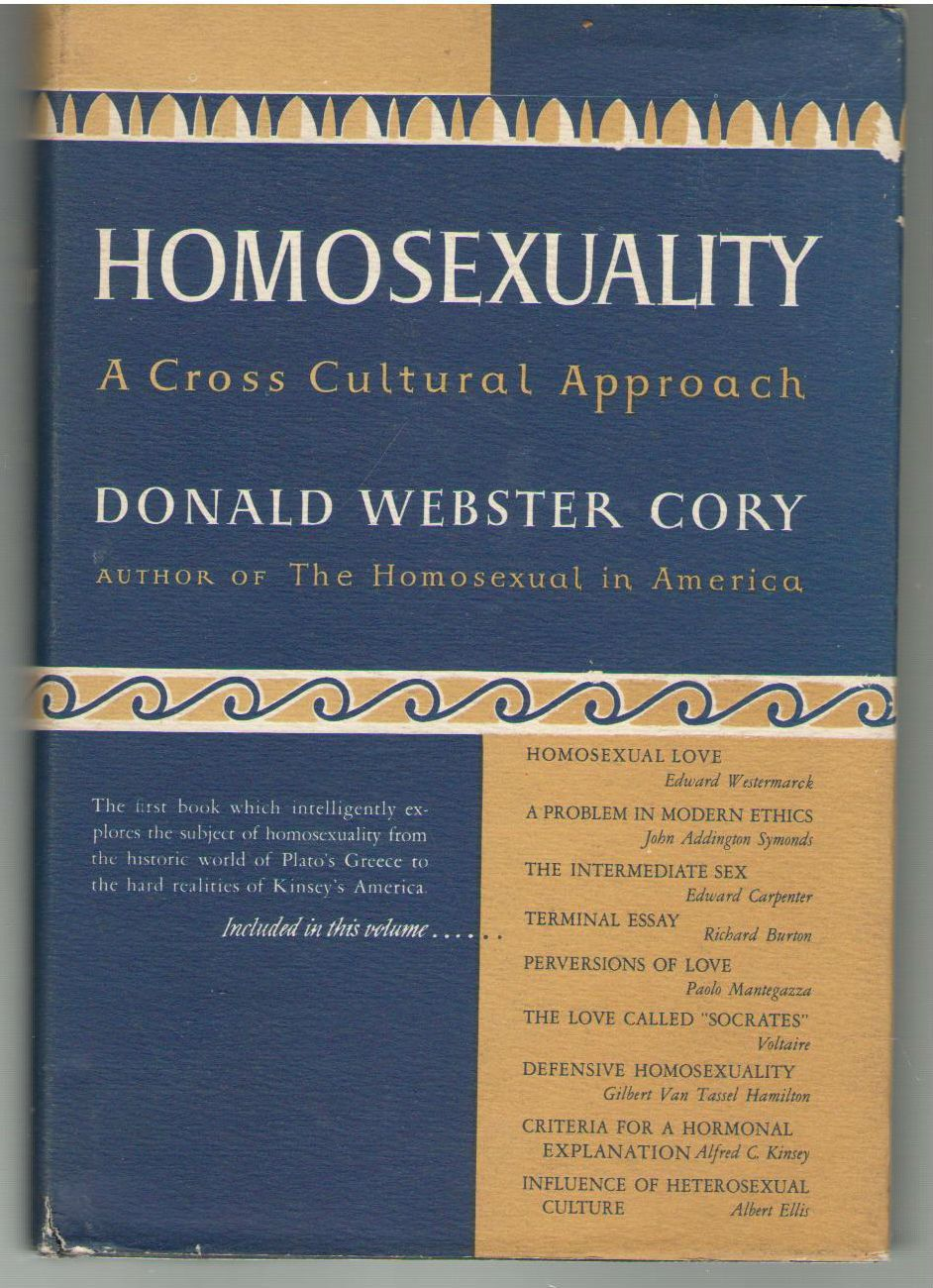 Homosexuality, Cory, Donald Webster