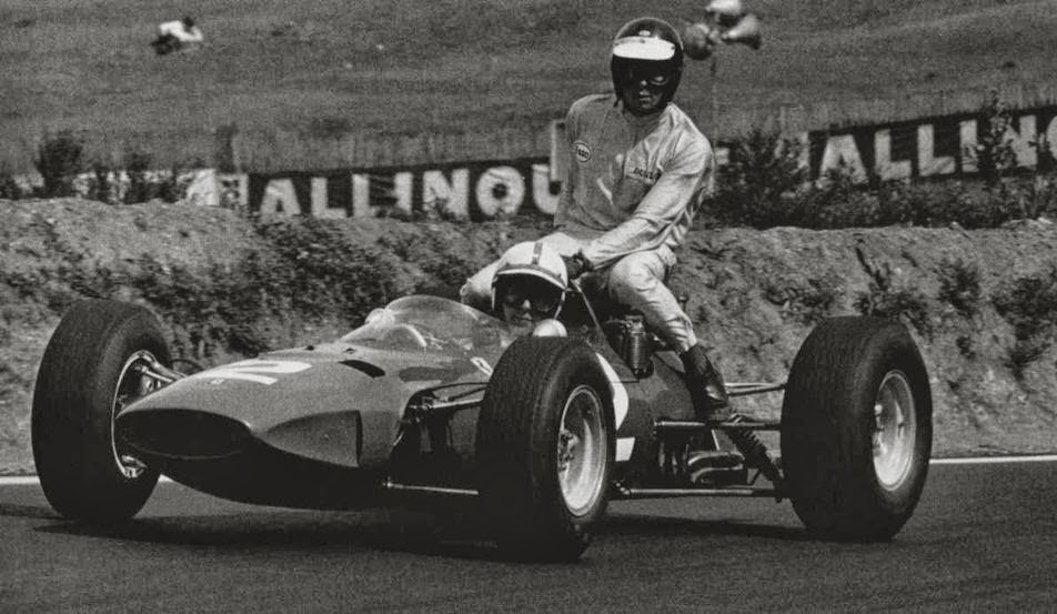 GP da França de 1965: os britânicos John Surtees e Jim Clark