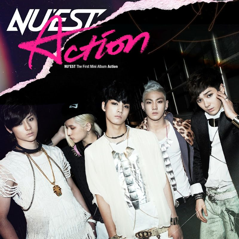 [Mini Album] NU'EST - Action [1st Mini Album]