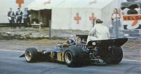 GP da Holanda de 1977: o brasileiro Emerson Fittipaldi e o sueco Ronnie Peterson