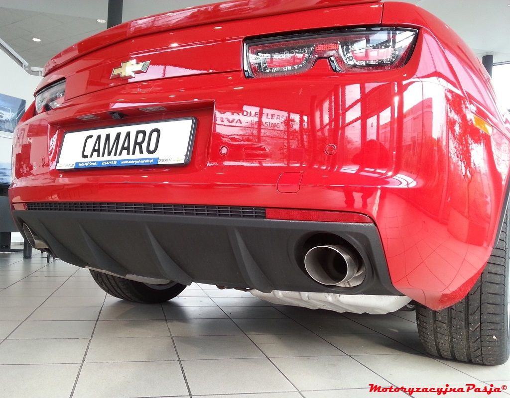 Dyfuzor, wydech Camaro