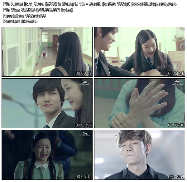 (MV) Chen (EXO) & Zhang Li Yin (S.M. The Ballad) - Breath (Chinese Ver.) (MelOn HD 1080p)
