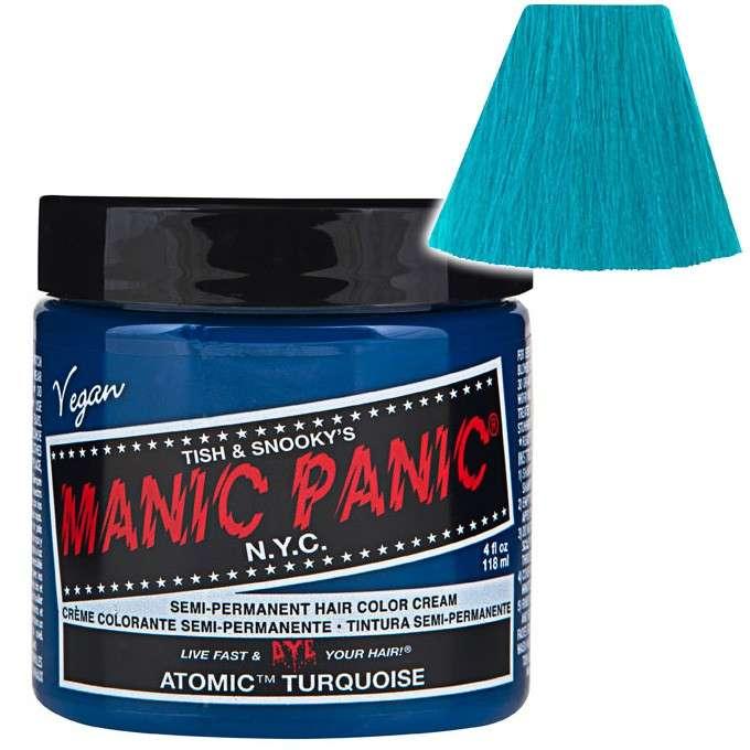 Panic Manic Atomic Turquiose