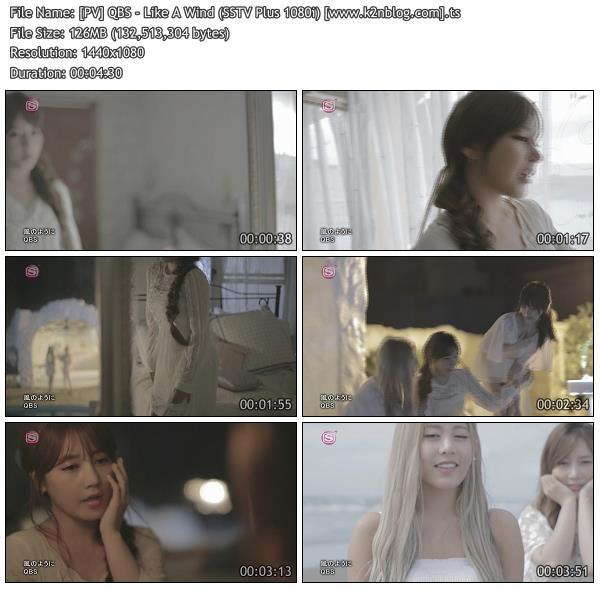 [PV] QBS - Like A Wind [SSTV Plus HD 1080i]