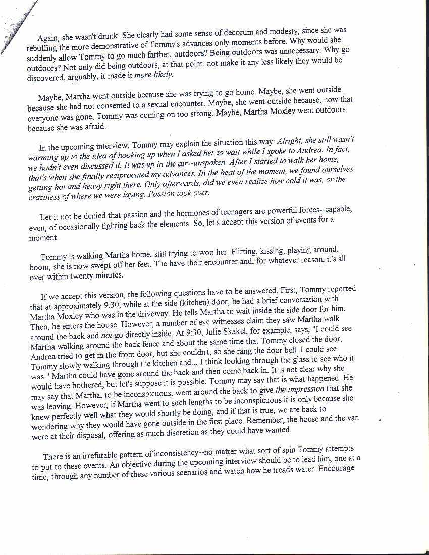 the sutton report tommy skakel analysis 2