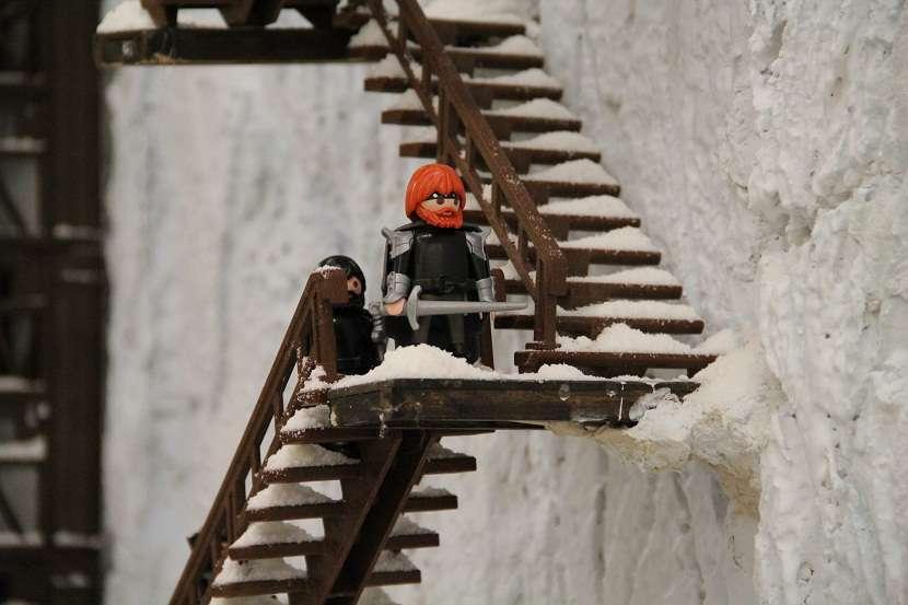 Xii feria nacional diorama juego de tronos fotos for Escaleras juego de tronos