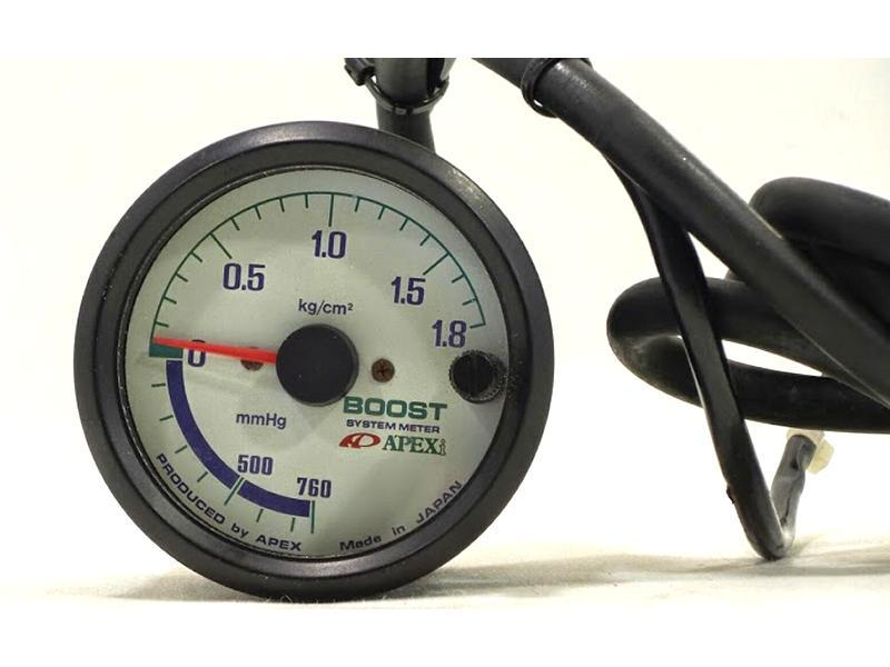 Apexi 60mm boost gauge R32 R33 R34 300ZX RX7 Supra Ep82 Ep91