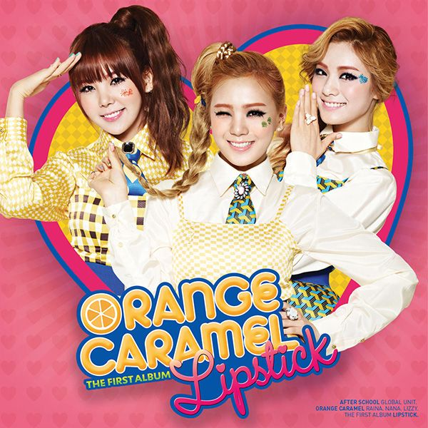 [Album] ORANGE CARAMEL - LIPSTICK [Vol. 1]