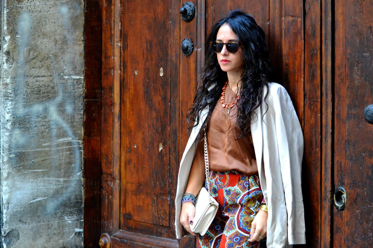 ethnic outfit street style