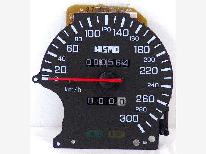 NISMO 300km/h speed meter R33 Skyline GTR GTST BCNR33 ECR33