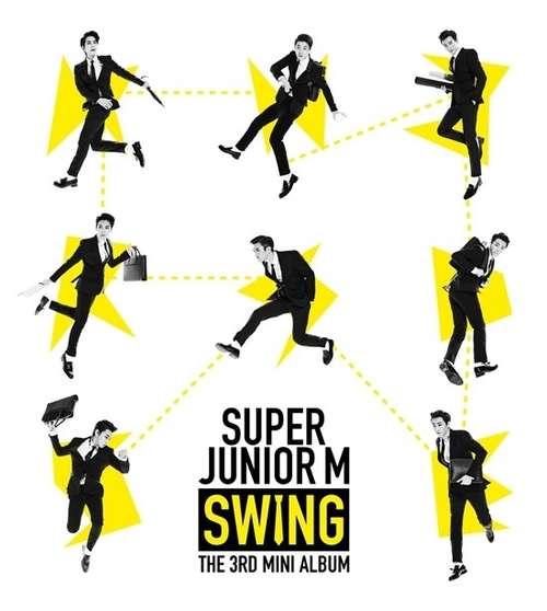 [Mini Album] Super Junior-M - Swing [3rd Mini Album]