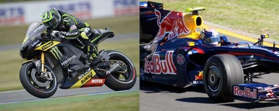 Monster Energy - MotoGP - Red Bull - F1