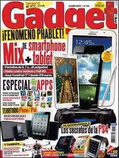 GADGET – Junio 2013/¡Fenomeno Phablet!