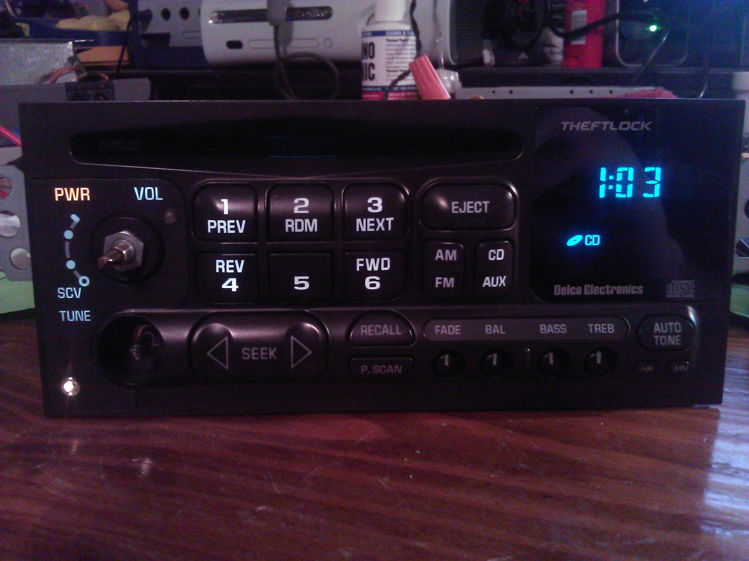 [SCHEMATICS_48EU]  HOW-TO: AUX Port in your OE Delco Stereo! (Picture Heavy) | S-10 Forum | Delco Radio Wiring Diagram 15071233 |  | S10 Forum