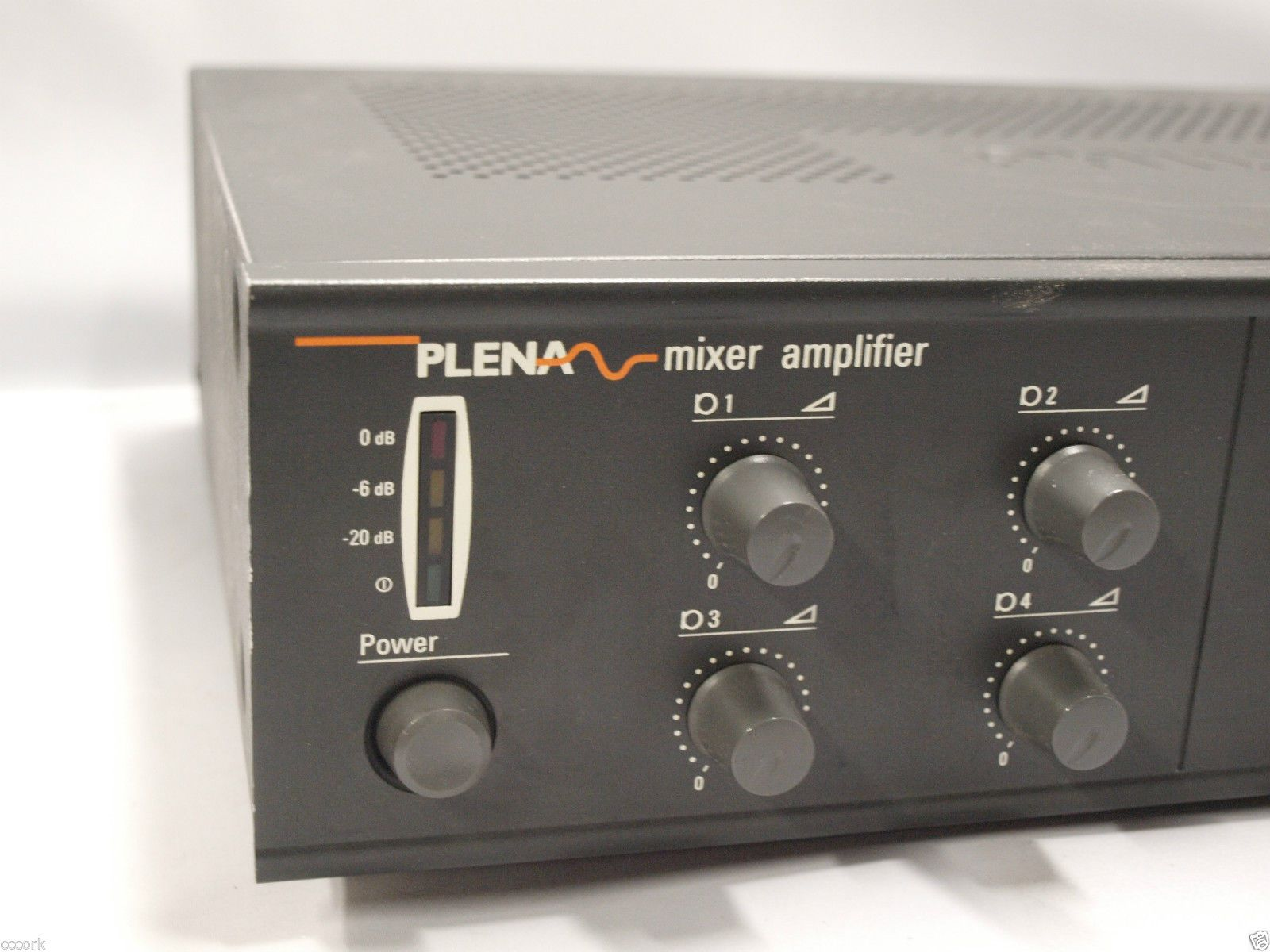 philips lbb 1906 10 plena mixer amplifier ebay. Black Bedroom Furniture Sets. Home Design Ideas