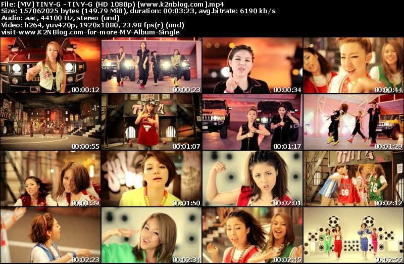 [MV] TINY-G - TINY-G (HD 1080p Youtube)