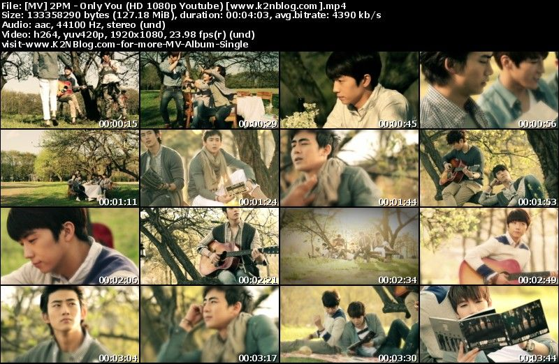 [MV] 2PM - Only You (HD 1080p Youtube)
