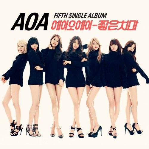 [Single] AOA - Miniskirt [5th Single Album]
