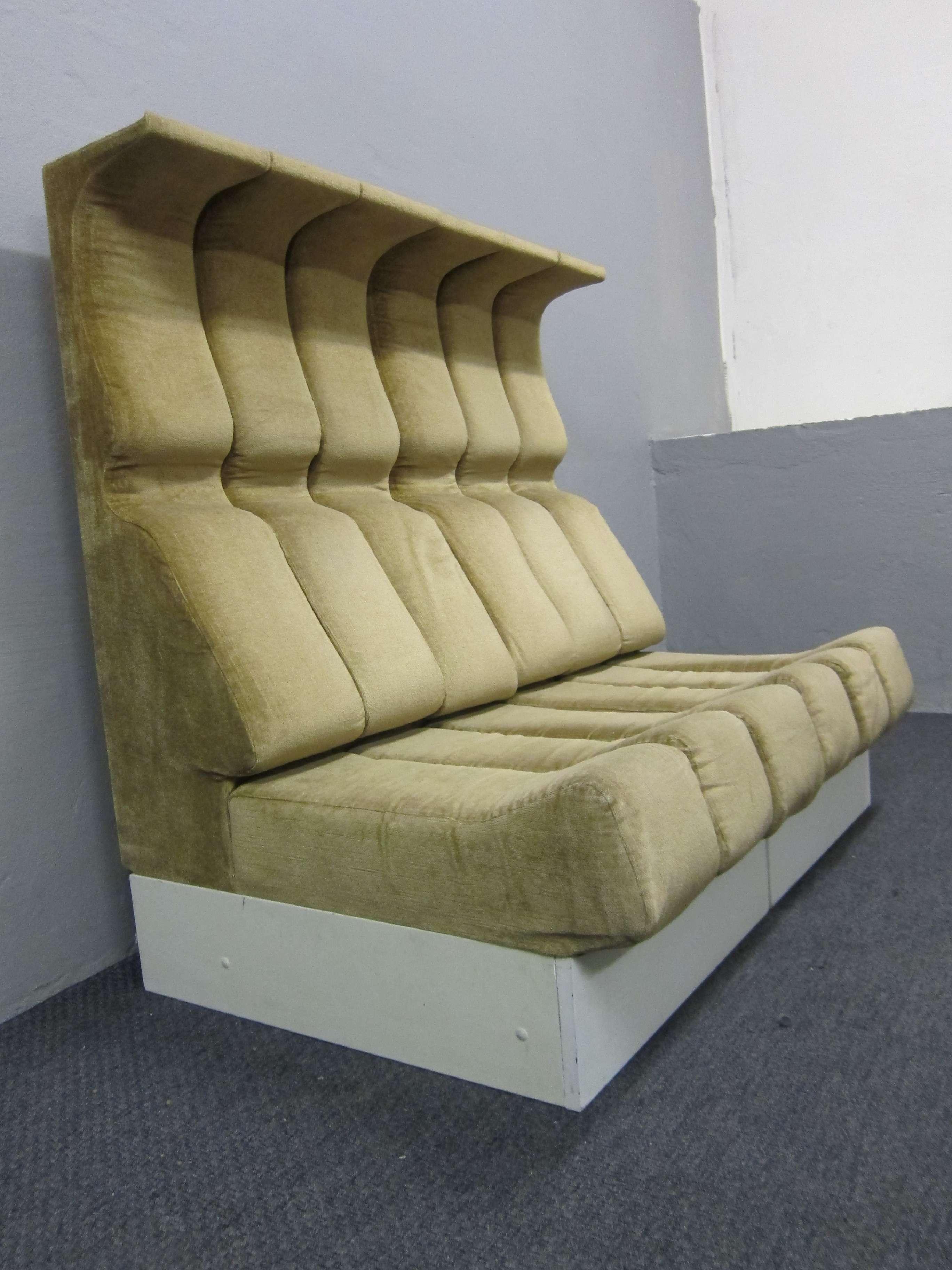 2 sitzelemente sessel sofa interl bke umgebung 121 design for Sessel 60er design
