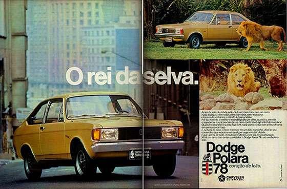 Dodge Polara 1978. O rei da selva. Coração de leão.