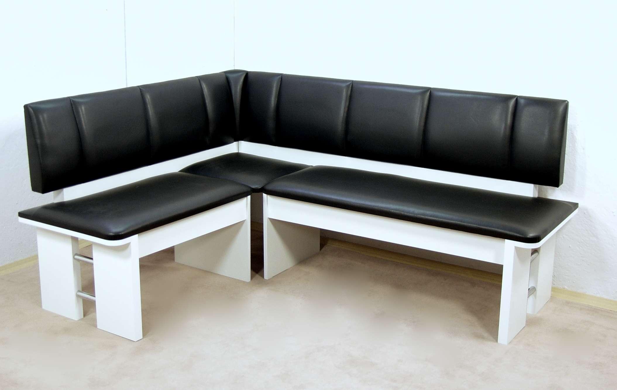 moderne eckbank weiss sitzecke esszimmer k che melamin design hochwertig neu ebay. Black Bedroom Furniture Sets. Home Design Ideas
