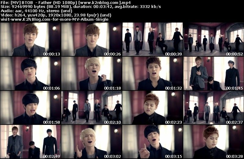 [MV] BTOB - Father (HD 1080p Youtube)